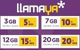 LLAMAYA Bonos Datos